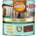 Lazură lucioasă pe bază de apă Sadolin Extra Plus 3 în 1 teak 5 l
