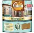Lazură lucioasă pe bază de apă Sadolin Extra Plus 3 în 1 nuc 5 l