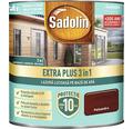 Lazură lucioasă pe bază de apă Sadolin Extra Plus 3 în 1 palisandru 0,75 l