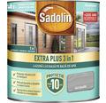 Lazură lucioasă pe bază de apă Sadolin Extra Plus 3 în 1 gri grafit 0,75 l