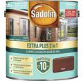 Lazură lucioasă pe bază de apă Sadolin Extra Plus 3 în 1 teak 2,5 l