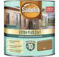 Lazură lucioasă pe bază de apă Sadolin Extra Plus 3 în 1 nuc 0,75 l