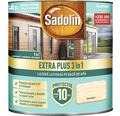 Lazură lucioasă pe bază de apă Sadolin Extra Plus 3 în 1 incoloră 0,75 l