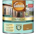 Lazură lucioasă pe bază de apă Sadolin Extra Plus 3 în 1 stejar rustic 0,75 l