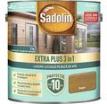 Lazură lucioasă pe bază de apă Sadolin Extra Plus 3 în 1 stejar rustic 2,5 l