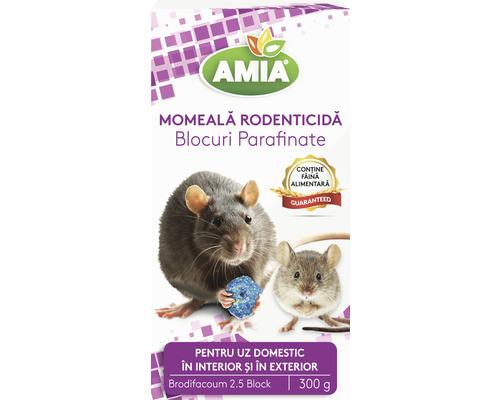 Momeală șoareci și șobolani blocuri parafinate Brody 300g