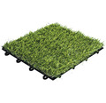 Dală gazon artificial, sistem click, 30 x 30 cm, verde