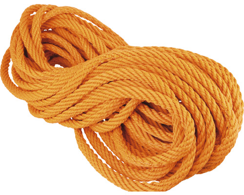 Frânghie polipropilenă Mamutec Ø10mm x 20m, portocaliu