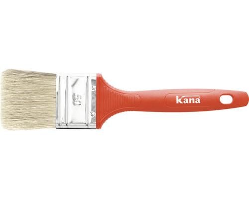 Pensulă lată Kana 20 mm fir mixt mâner plastic