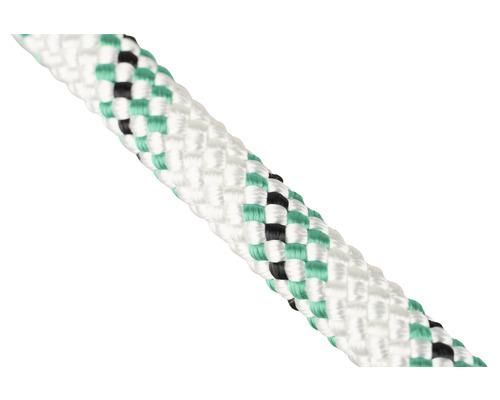 Cordelină poliester Mamutec Passat Ø8mm, alb/verde