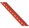 Cordelină polipropilenă Mamutec Paraloc Ø8mm, 750daN, roșu/albastru