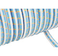 Cordelină elastică poliamidă Mamutec Ø8mm, albastru/verde
