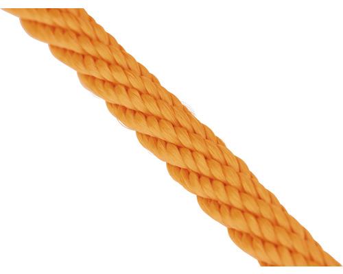 Frânghie polipropilenă Mamutec Ø6mm, portocaliu