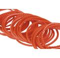 Cordelină polipropilenă Mamutec Paraloc Ø4mm 250daN, roșu