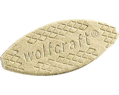 Placute de imbinare lemn Wolfcraft 61x23x4 mm, pachet 50 bucati