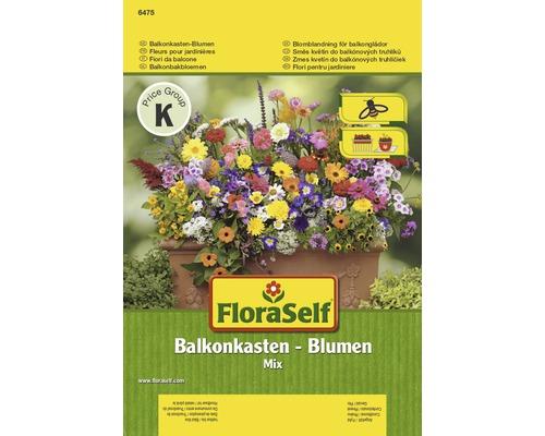 Mix seminte pentru flori FloraSelf 'Flori pentru jardiniere de balcon'