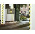 Banda de marcare tesa® Signal galben/negru 66 m x 50 mm