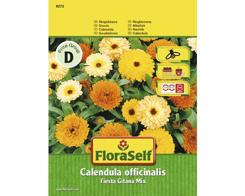 """FloraSelf semințe de gălbenele """"Calendula officinalis"""""""