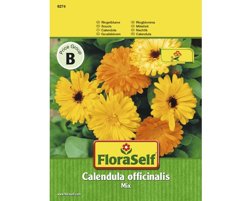 "FloraSelf seminte de flori mix de galbenele ""Calendula officinalis"""