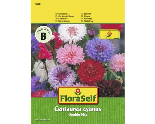"FloraSelf seminte de albastrele ""Centaurea cyanus"" Double Mix"