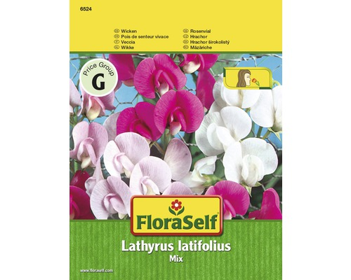 "FloraSelf seminte de mazariche mix ""Lathyrus latifolius"""