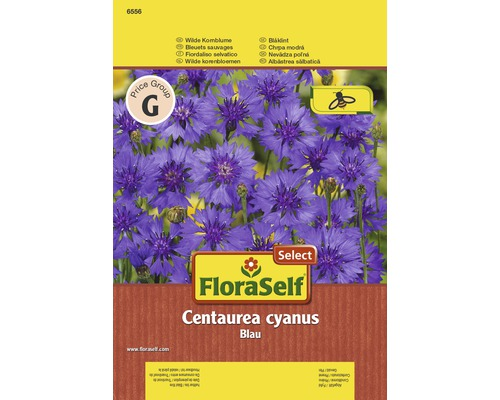 """FloraSelf seminte de albastrele """"Centaurea cyanus"""""""