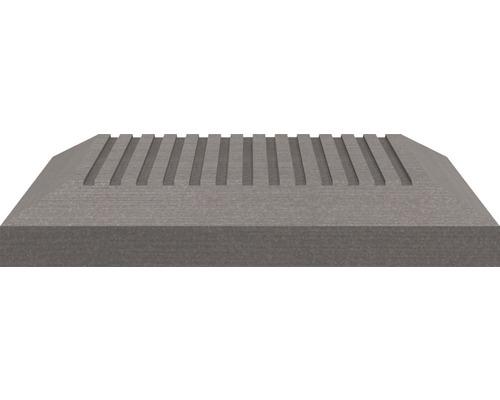 Capac stalp Sombra 11 x 11 cm, Stone Grey
