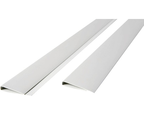Profil U, din PVC, 200x4,5 cm, alb