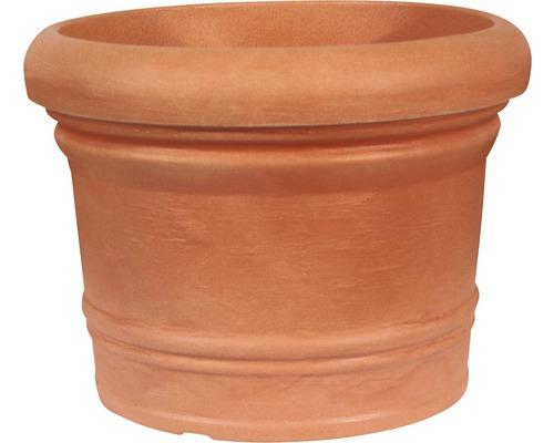Ghiveci Geli Palermo, plastic, Ø 45 cm, maro