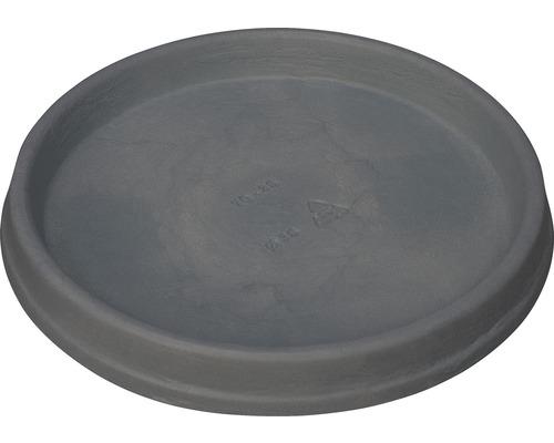 Farfurie ghiveci, Ø 38 cm, Marcella, antracit