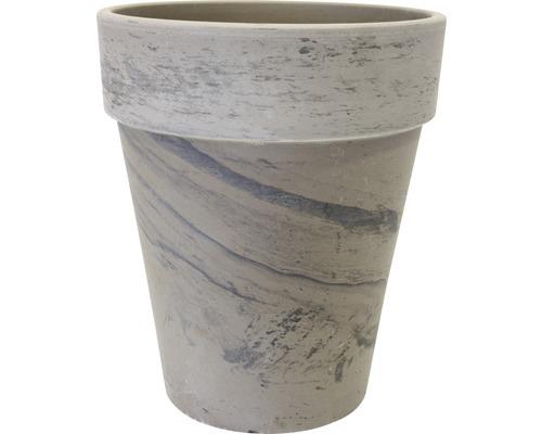 Ghiveci tip vaza Spang XL, teracota, Ø 38 cm, antracit