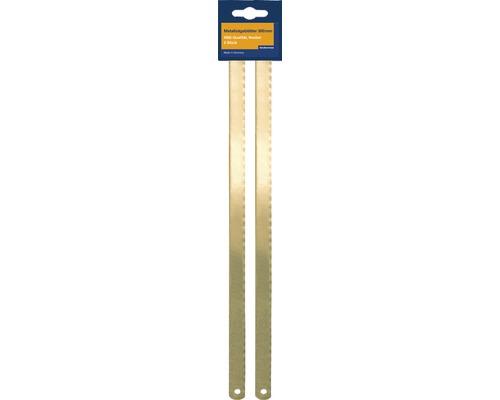 Pânze fierăstrău manual Heckenrose 300mm pentru metale HSS-bimetal (bomfaier), pachet 2 bucăți