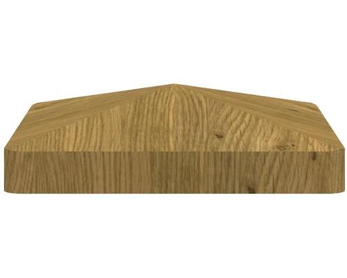 Capac stalp BasicLine 8,7 x 8,7 cm, stejar noduros