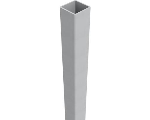 Stalp Belfort 6 x 6 x 190 cm, EV 1, gri aluminiu