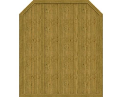 Element principal BasicLine tip J 180 x 210/180 cm, stejar noduros