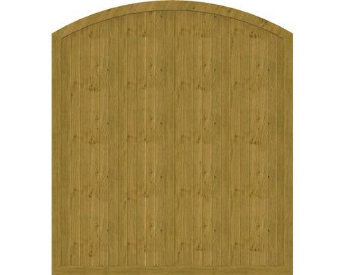 Element principal BasicLine tip F 180 x 205/180 cm, stejar noduros