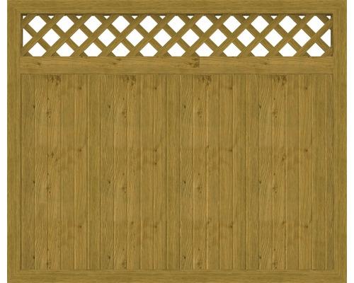 Element principal BasicLine tip O 180 x 150 cm, stejar noduros