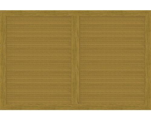 Element principal BasicLine tip V 180 x 120 cm, stejar noduros