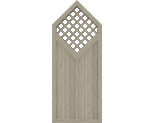 Element partial BasicLine tip D 90 x 215/180 cm, Sheffield Oak