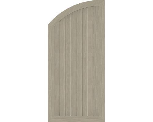 Element extremitate BasicLine tip Q, stanga, 70 x 150/120 cm, Sheffield Oak