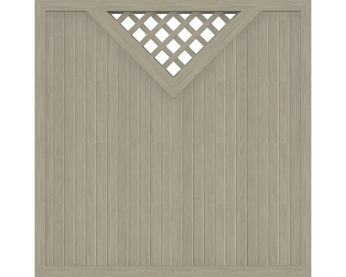 Element principal BasicLine tip B 180 x 180 cm, Sheffield Oak