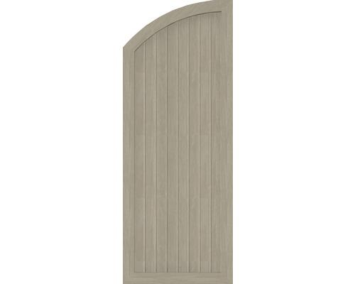 Element extremitate BasicLine tip H, stanga, 70 x 180/150 cm, Sheffield Oak