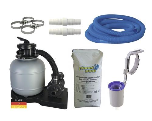 Set sistem de filtrare cu nisip pentru conversie, 4 mc/h
