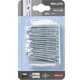 Dibluri Dolle Wallfix 6x36 mm pentru fixare șine de perete, pachet 20 bucăți