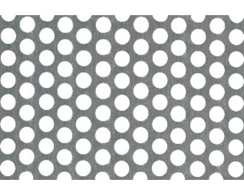 Tabla perforata aluminiu neizolata, perforatii rotunde