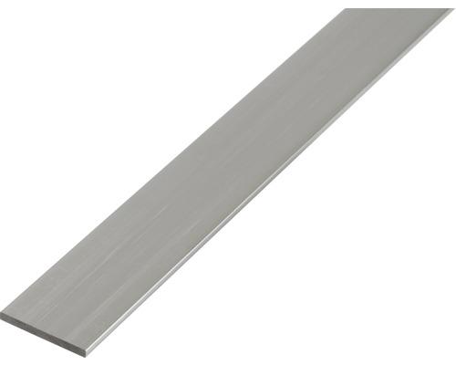 Bara plata 30x2 mm aluminiu brut 2m