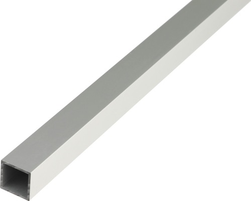 Teava patrata 20x20 mm 1m aluminiu eloxat