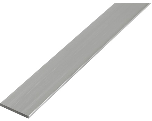 Bara plata 25x2 mm 2m aluminiu