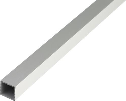 Teava patrata 20x20 mm 2m aluminiu eloxat