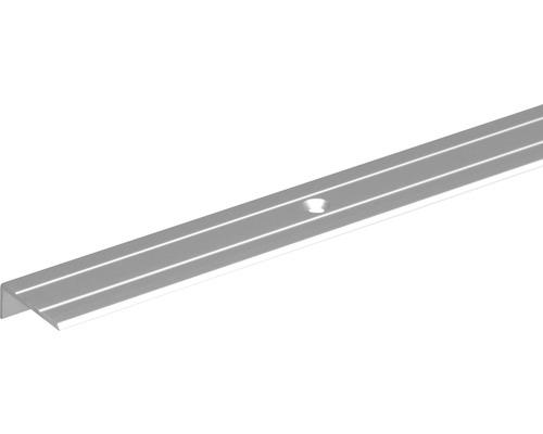 Profil terminal 25x10 aluminiu 2m